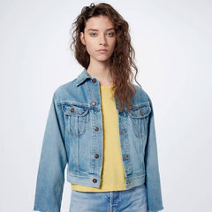 front profile, 70s Rodeo Denim Jacket