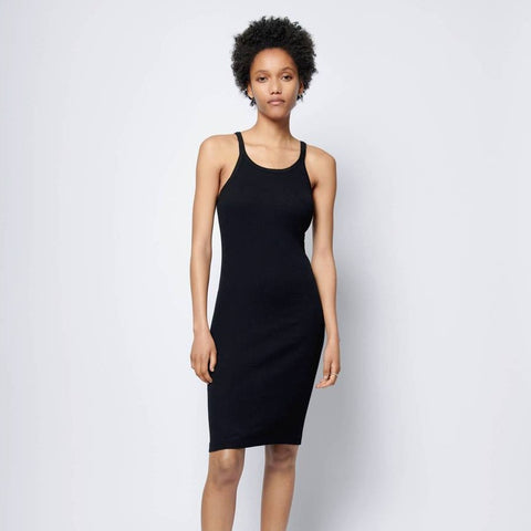 Ribbed Tank Dress, front view
