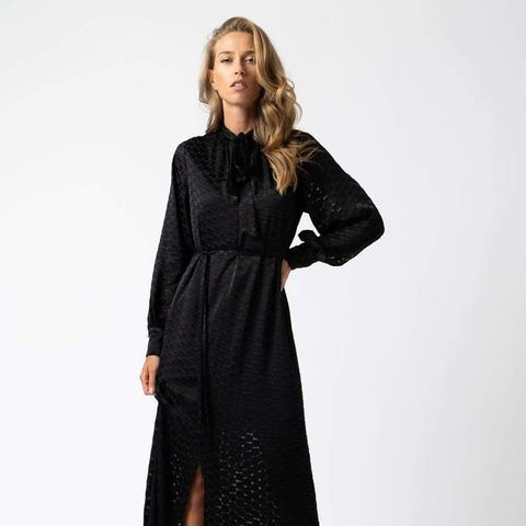 front profile, FLORENCE DRESS - BURNOUT