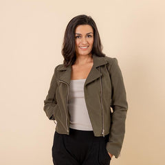 The UnMoto Jacket, Olive