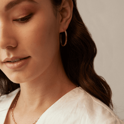 ABLE Muse Hoop Earrings
