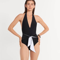 Ansea The Tie Front One Piece