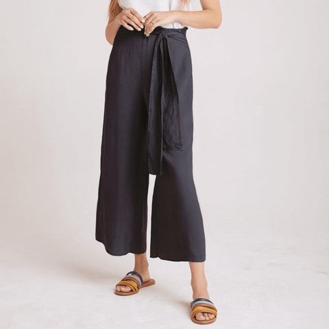 Bella Dahl The Waist Wide Leg Crop Pants