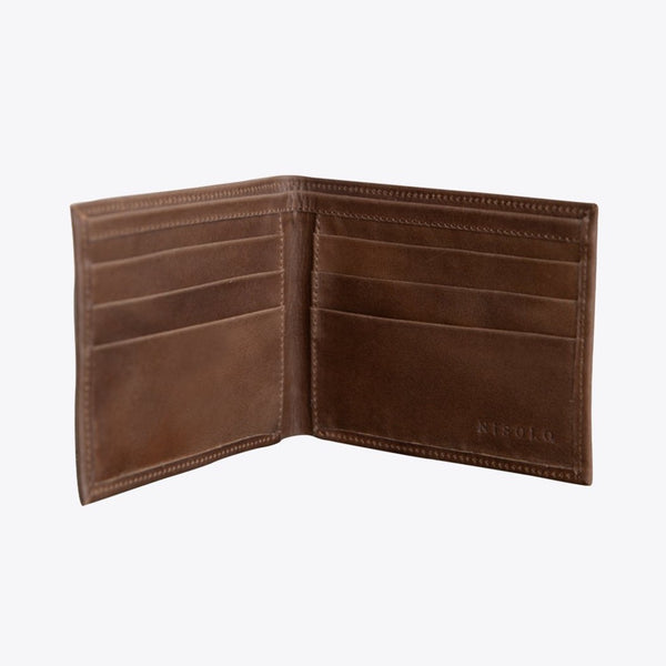 NISOLO Brewer Men's Wallet Brown