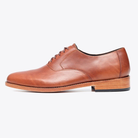 NISOLO Calano Men's Oxford Brandy