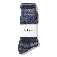 Drutherswear Organic Cotton Defender Men's Crew Socks