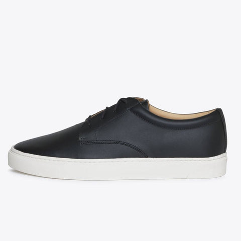 NISOLO Diego Men's Low Top Sneaker Black
