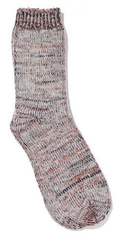 Drutherswear Tri-Color Wool Men's Crew Socks