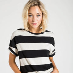 RORY TEE - WIDE STRIPE