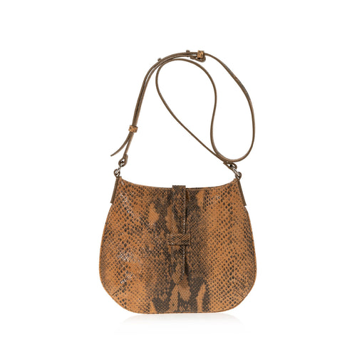 JOANNA MAXHAM Tulip Crossbody Bag (Hazel Snake Wash)