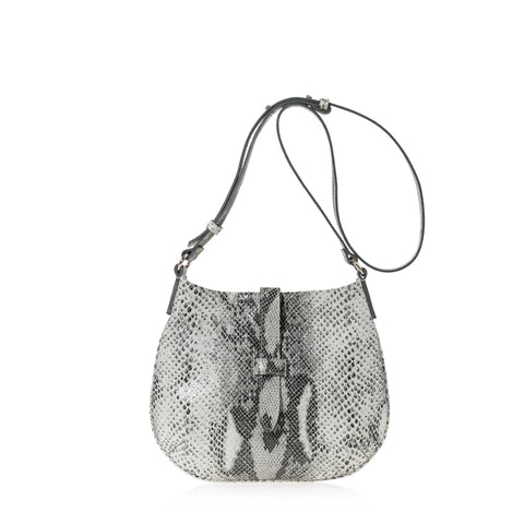 JOANNA MAXHAM Tulip Crossbody Bag (Grey Snake Wash)