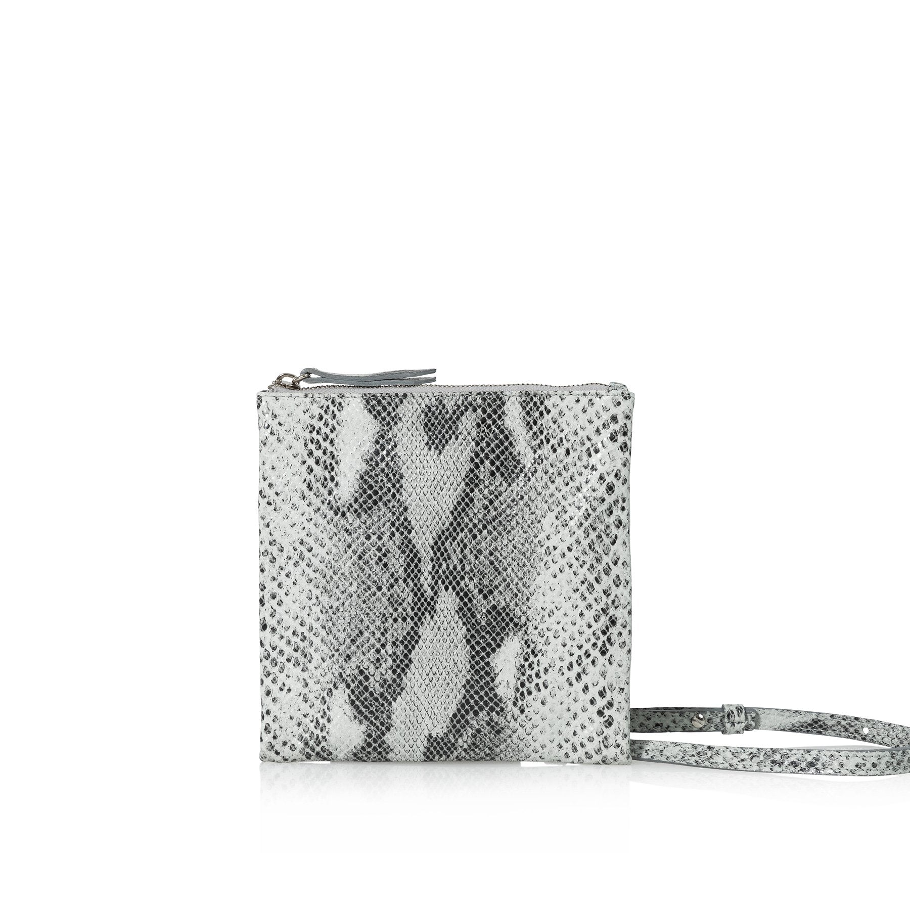 JOANNA MAXHAM Edit Utility Bag (Grey Snake Wash)