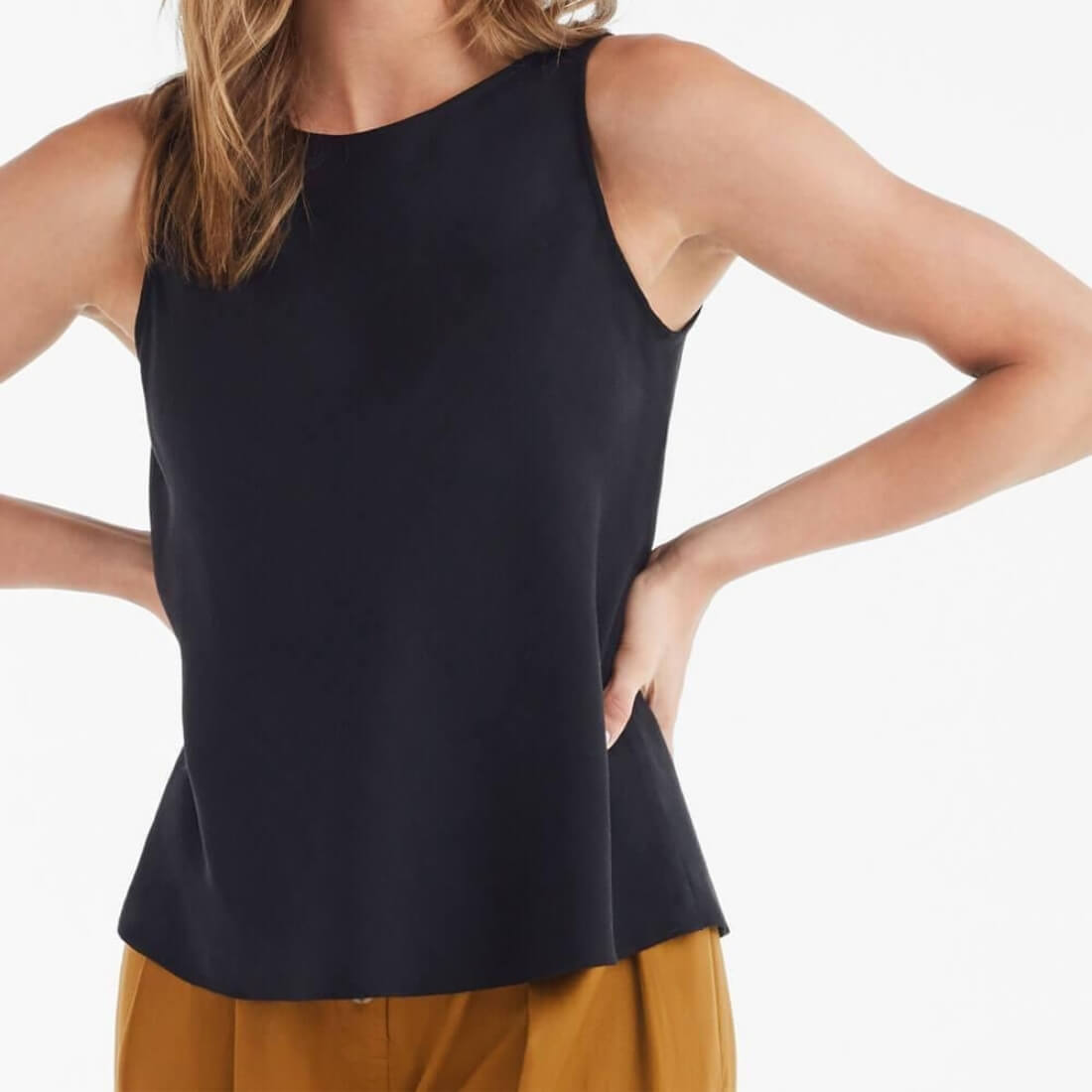 The textured shell top