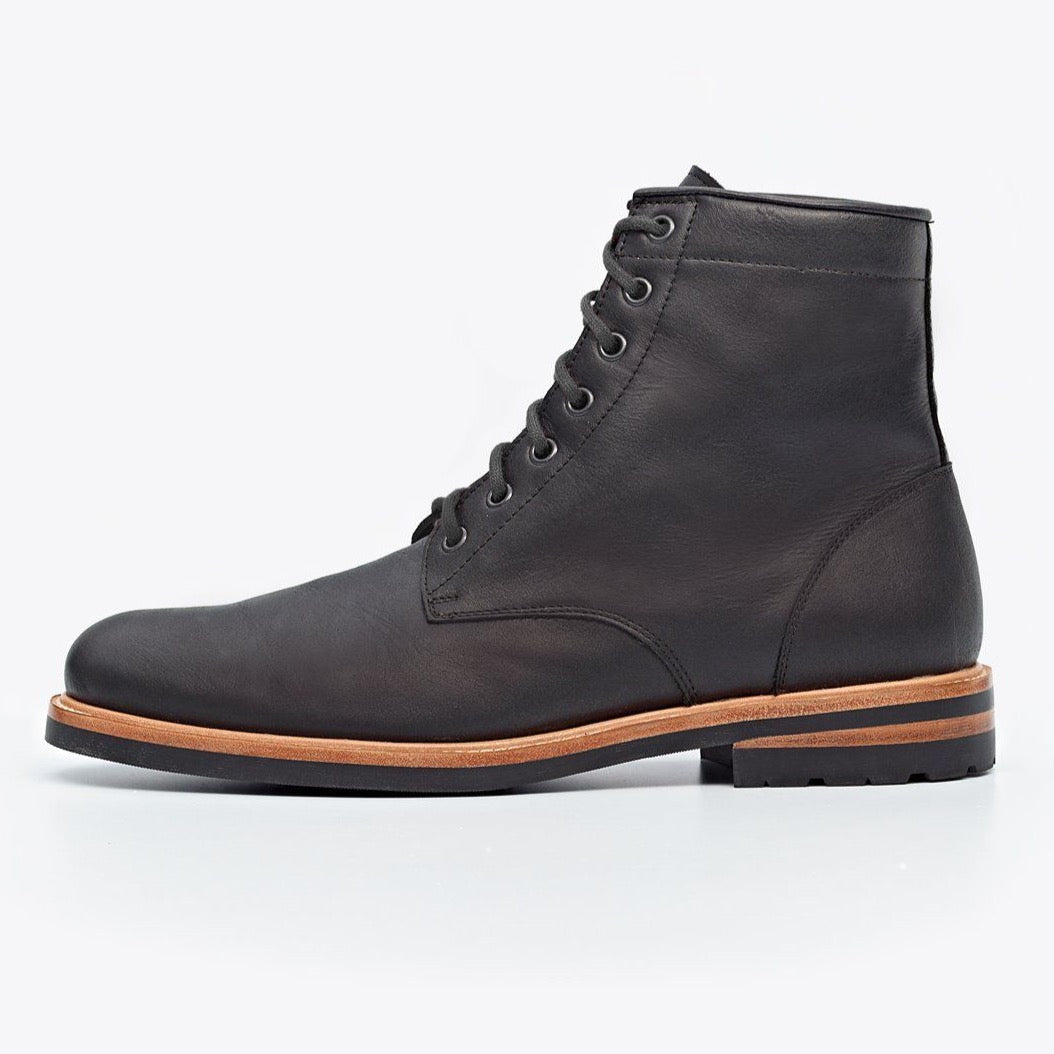NISOLO Andres Men's All Weather Black Boot