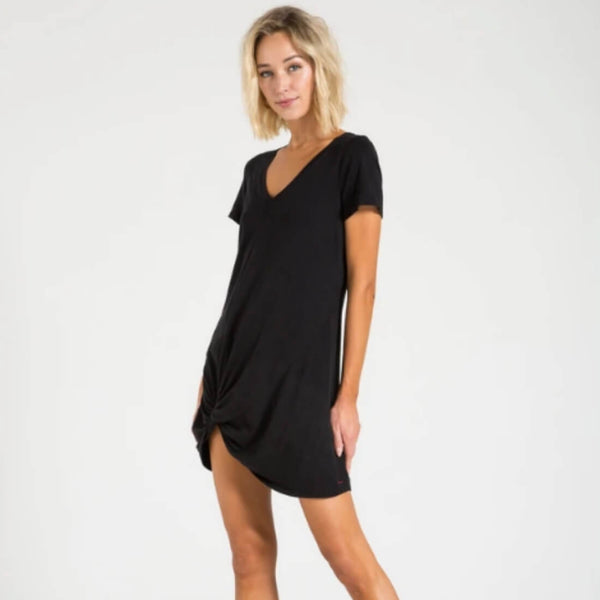 LEONARDO DRESS - BLACK CAT