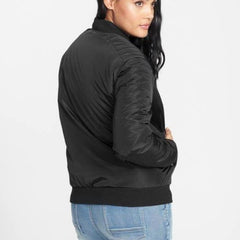 Back Profile Tall Bomber Jacket