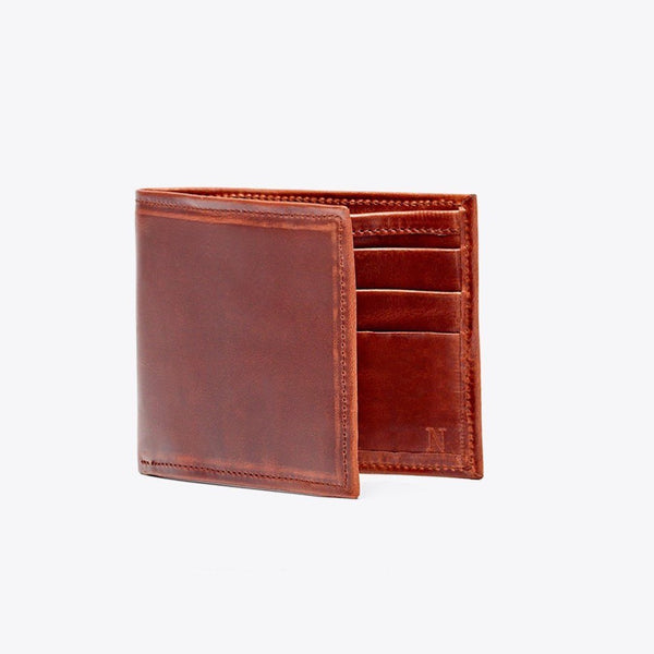 NISOLO Brewer Men's Wallet Brandy