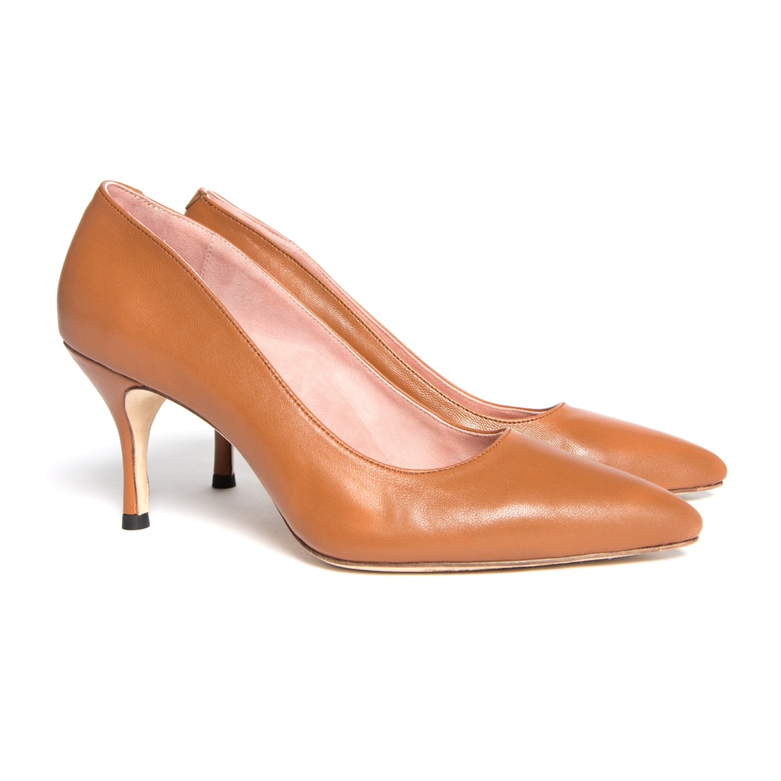 ALLY Courageous Caramel Leather Pump