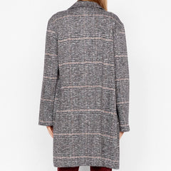 Carlyle Coat Abstract Plaid