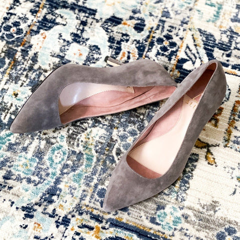 ALLY Seize the Gray Suede Pump