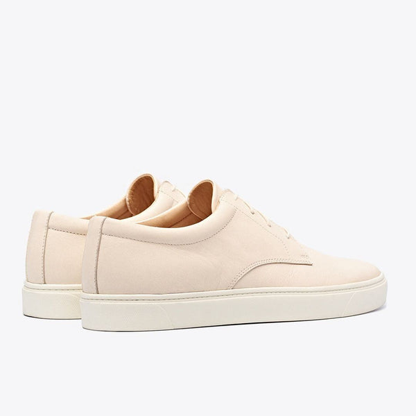 NISOLO Diego Men's Low Top Sneaker Bone