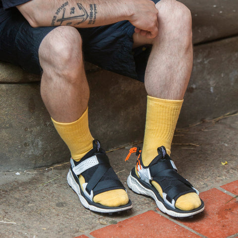 Drutherswear Everyday Organic Cotton Crew Socks