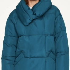Phebe Recycled Polyester Long Puffer Jacket