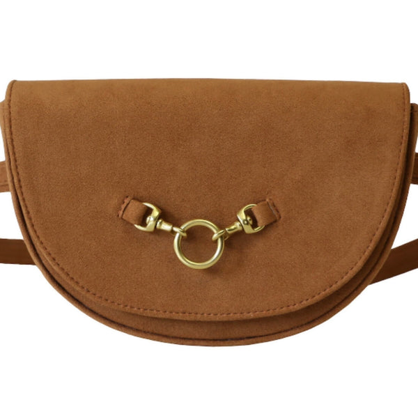 HALF MOON CONVERTIBLE CROSSBODY AND BELT BAG