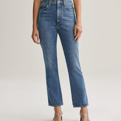 Agolde Pinch Waist High Rise Kick Jean