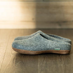 Kyrgies All Natural Molded Sole - Low Back - Gray Womens