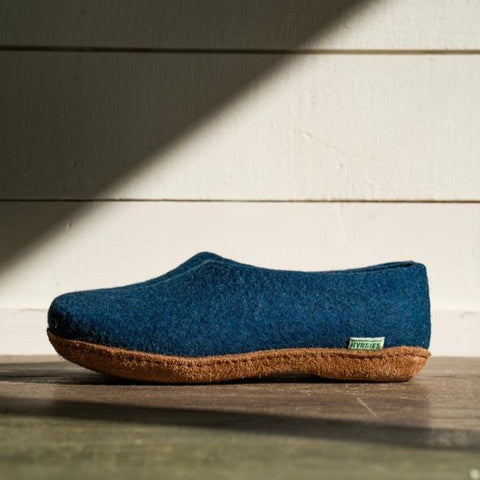 Kyrgies All Natural Molded Sole - High Back - Navy Womens