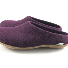 Kyrgies All Natural Molded Sole - Low Back - Plum Mens