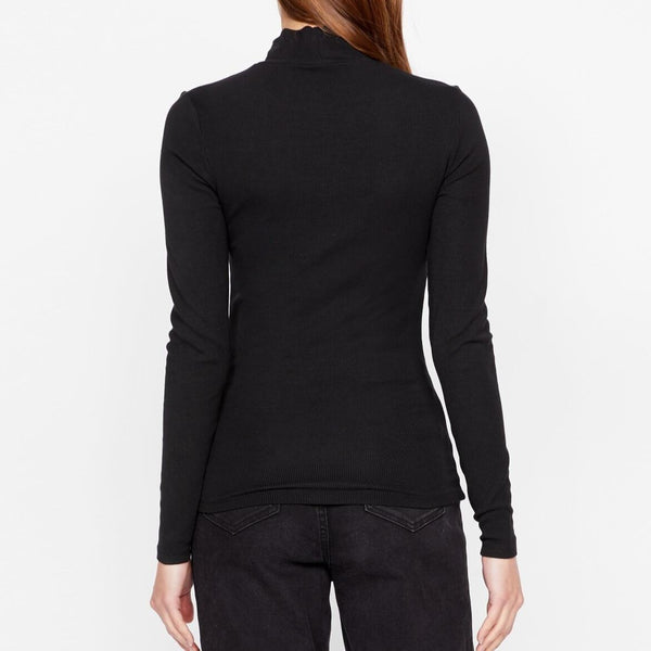 Mock Neck Black