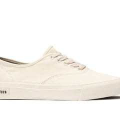 SeaVees Womens Legend Off-White Recycled Cotton Vegan Sneaker Seachange