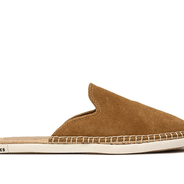 SeaVees Womens Ocean Park Brown Slip-on Mule