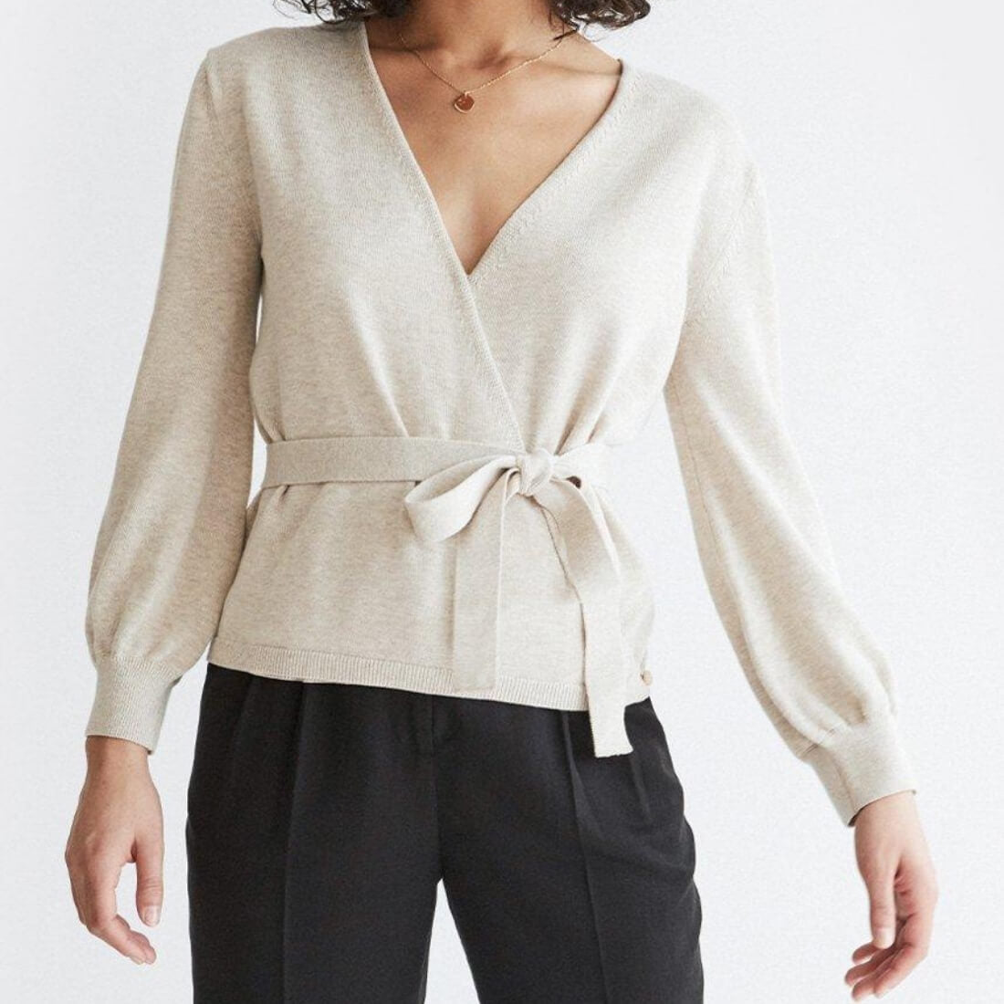 The Convertible Wrap Sweater