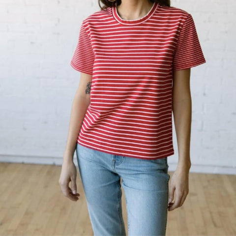 102 Box Stripe T-shirt