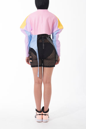 """Fuck Off"" Shape Shift Jacket"