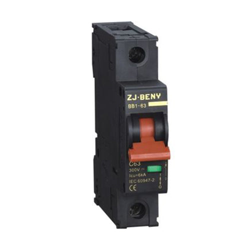 Beny DC Single Pole Circuit Breaker 6A - SBP Electrical