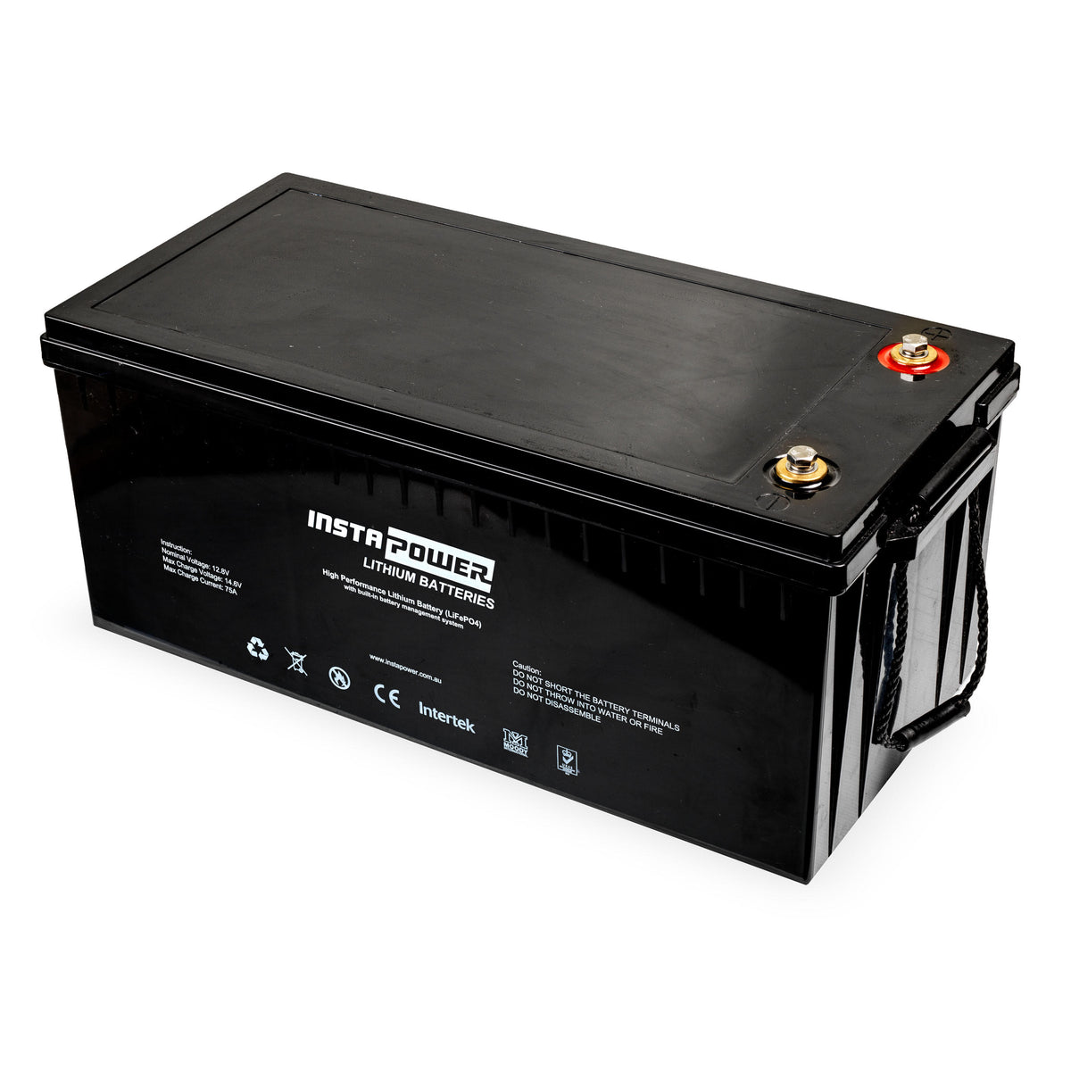200Ah 12v Lithium Battery LiFePO4 InstaPower High Performance IP12200LFP