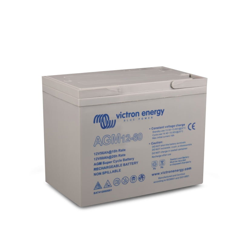 Victron Energy 12V/60Ah AGM Super Cycle Battery (M5) BAT412060081