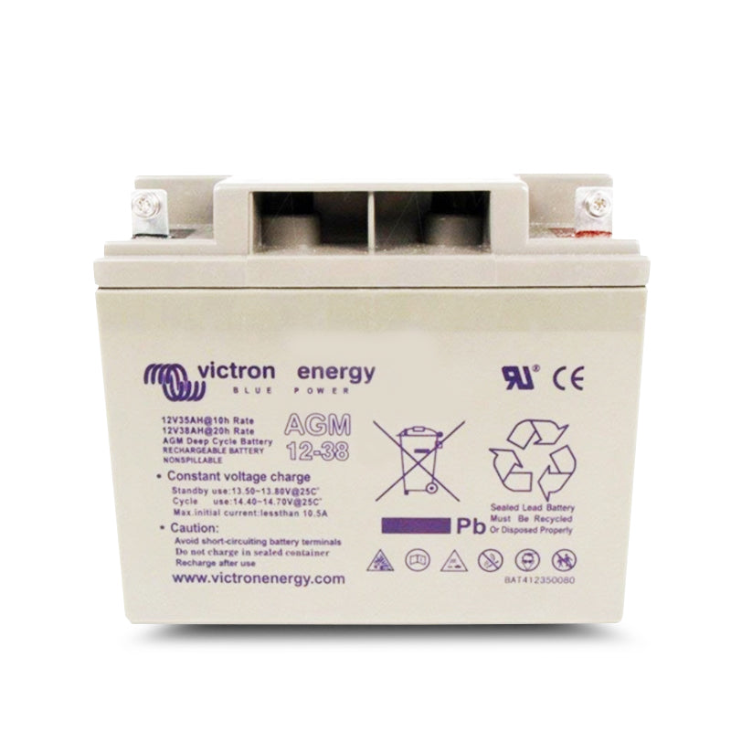 Victron Energy 12V/38Ah AGM Deep Cycle Battery BAT412350084
