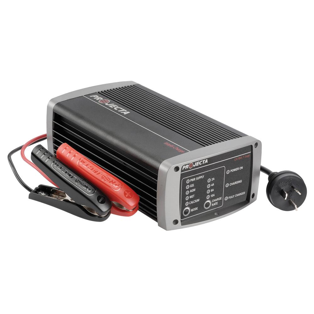 PROJECTA 12V AUTOMATIC 10A 7 STAGE BATTERY CHARGER - SBP Electrical