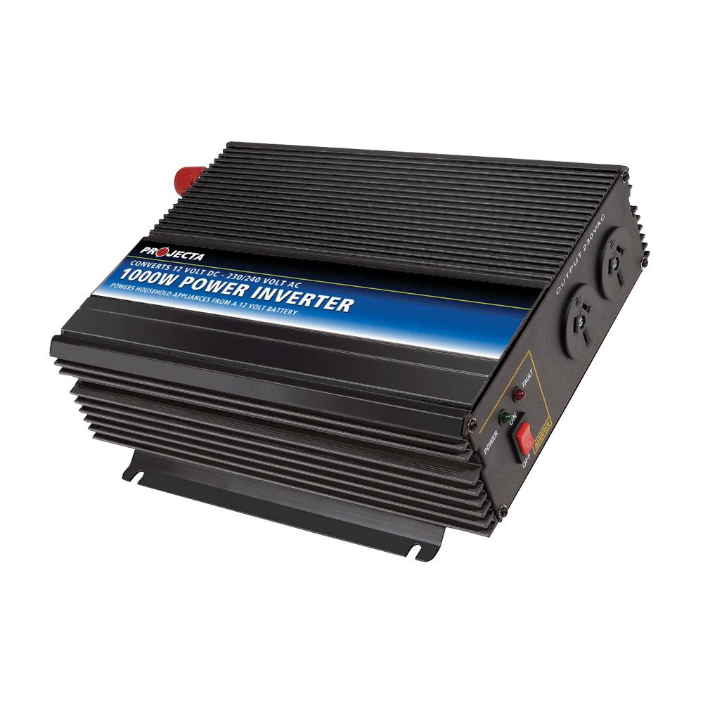 PROJECTA 12V 1000W MODIFIED SINE WAVE INVERTER - SBP Electrical