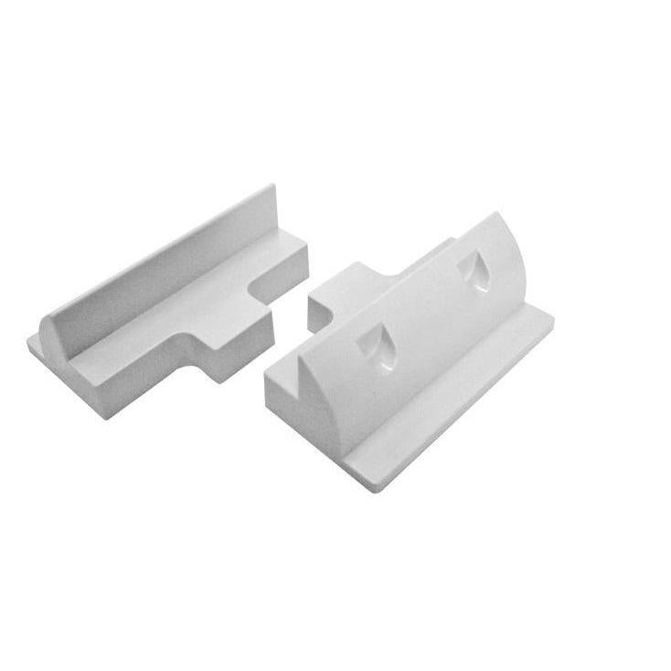 Bracket Side White Set 2pcs - SBP Electrical