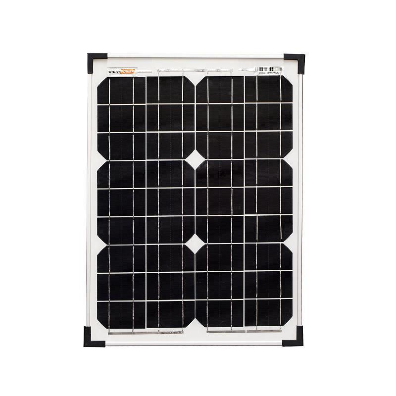 InstaPower 10W 12V Mono Solar Panel 360x260x17mm - SBP Electrical