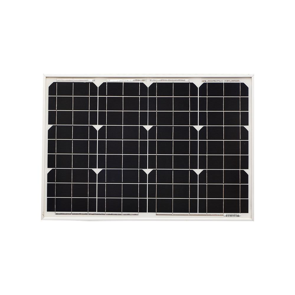 InstaPower 40W 12V Mono Solar Panel 670x460x30mm - SBP Electrical