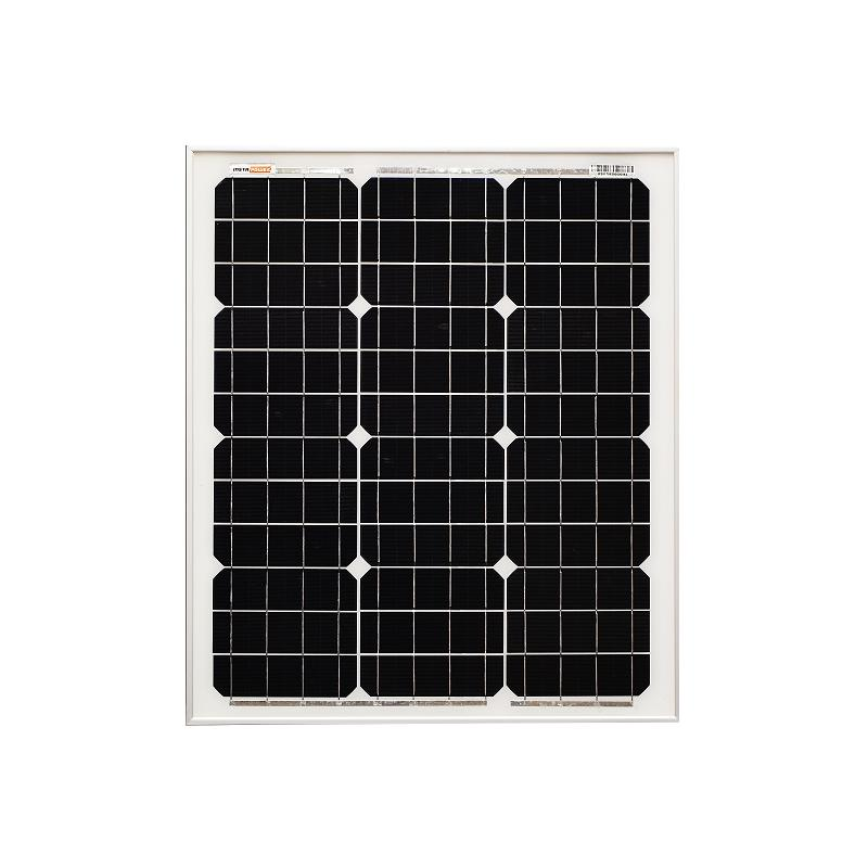 InstaPower 50W 12V Mono Solar Panel 630x540x35mm - SBP Electrical