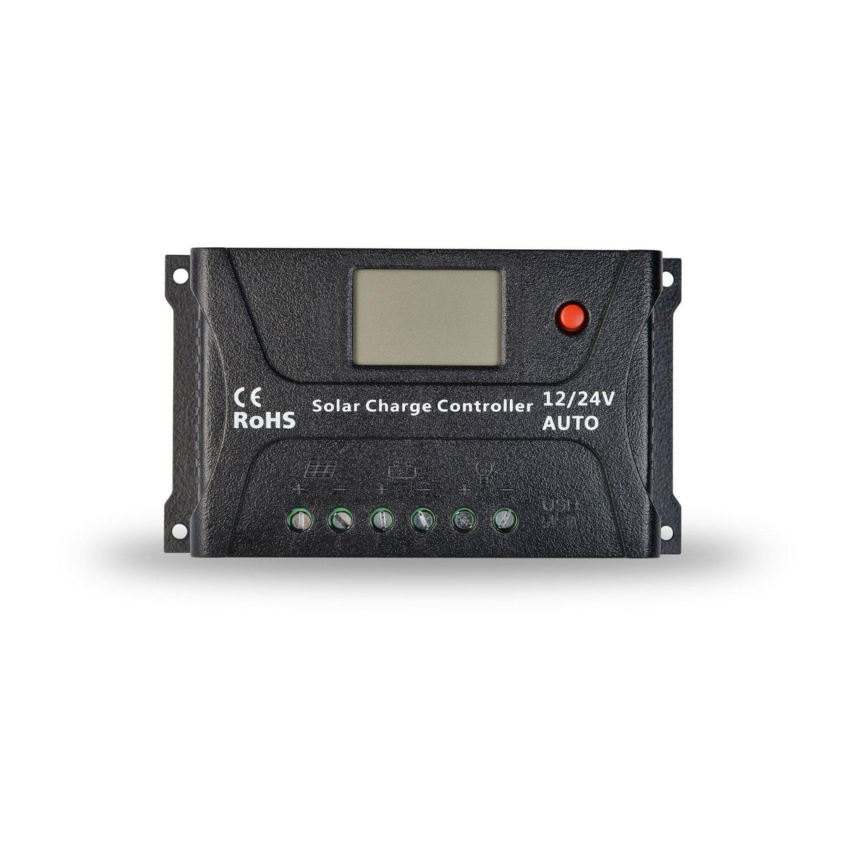 InstaPower 20A Solar Charge Controller 12V/24V With LCD Display - SBP Electrical
