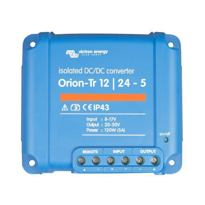 Orion-Tr 12/24-5A (120W) Isolated DC-DC converter - SBP Electrical